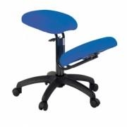 Ergonomisk stol med reglerbart knästöd
